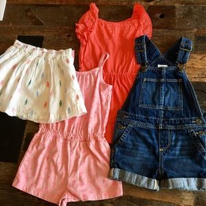 Baby Gap, size 2T, lot of 4